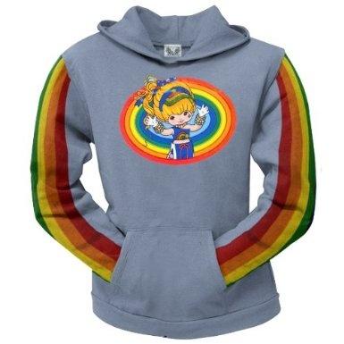 Rainbow Brite - Rainbow Ladies Blue Hoodie