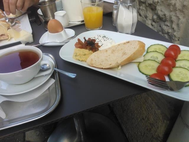 Breakfast at Harrach, Graz, Austria