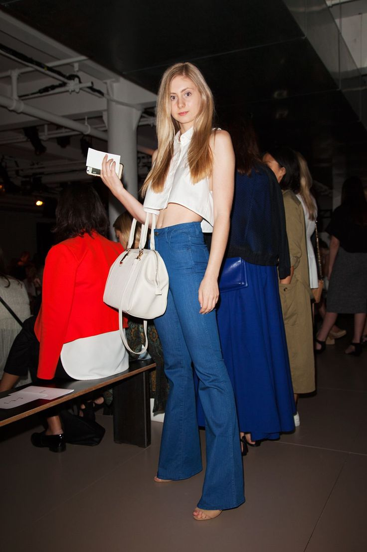 Where these back row Fashion Week fans are actually from