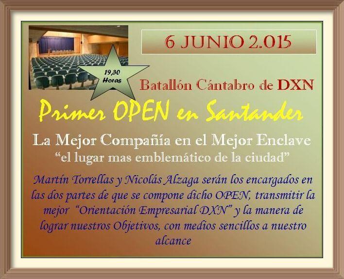 Primer Open DXN en Santander