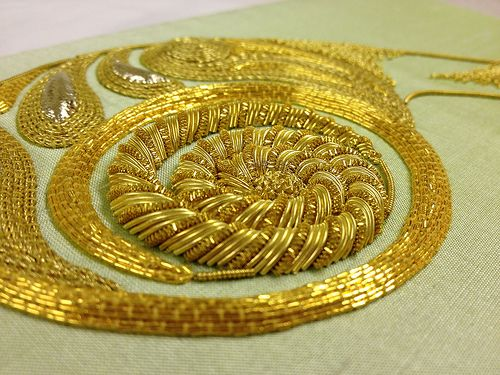 Jess Lee Basic Goldwork