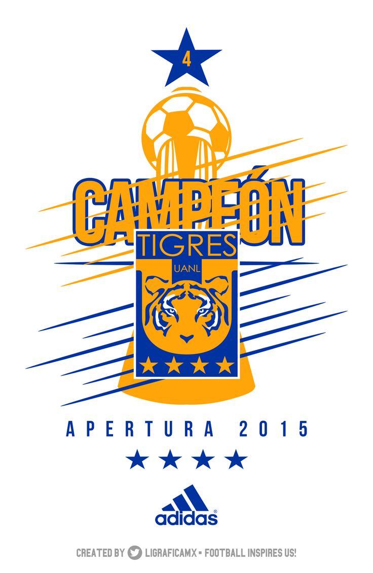 Tigres UANL • Campeón LigaMX