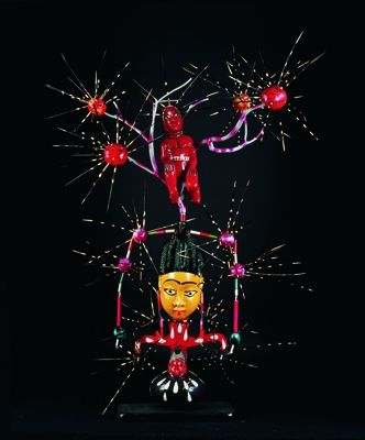 Abu created by John Goba - Pigozzi Collection 2013 - Contemporary African Art Collection