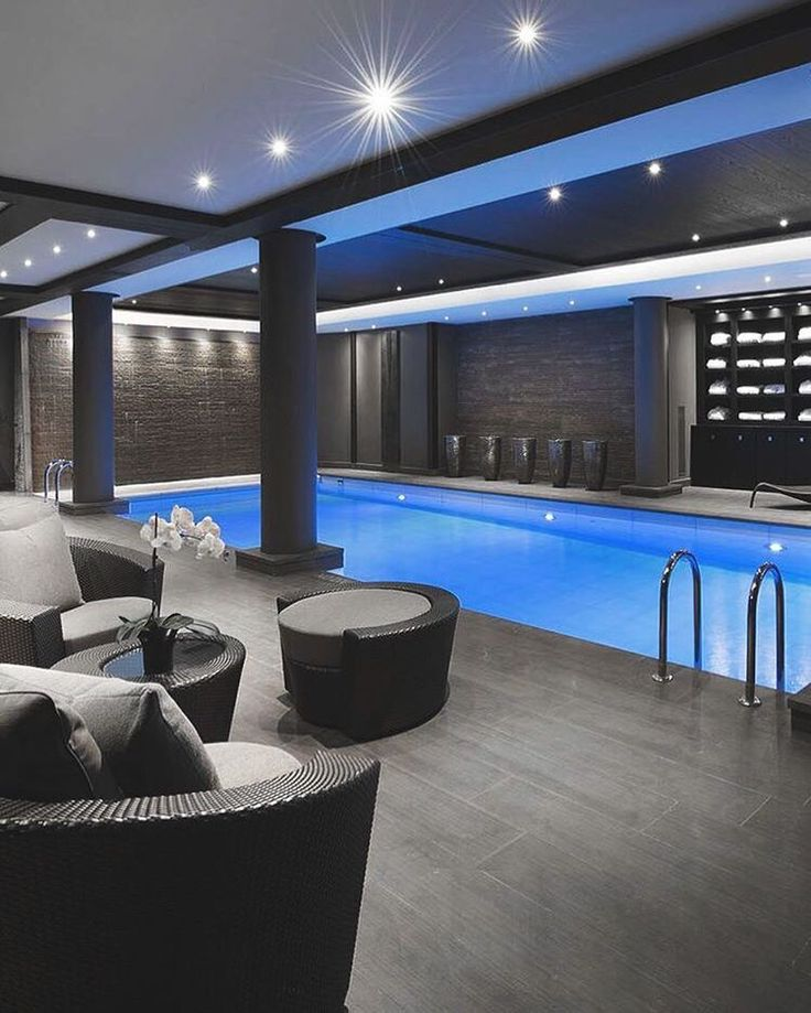 Luxury Home Indoor Swimming Pools: Best 25+ Mansion Interior Ideas On Pinterest