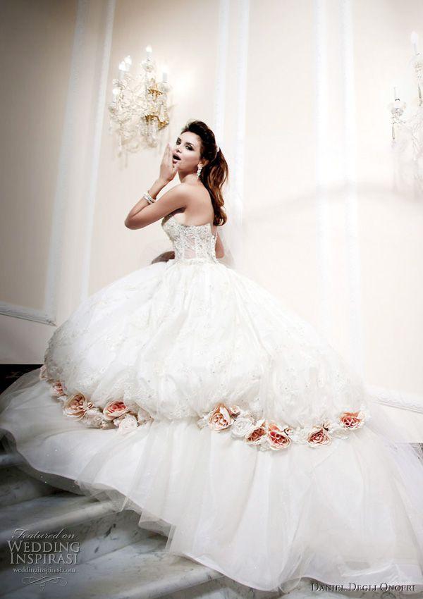 Cinderella Wedding Gowns   Daniel Degli Onofri Wedding Dresses   Wedding Inspirasi