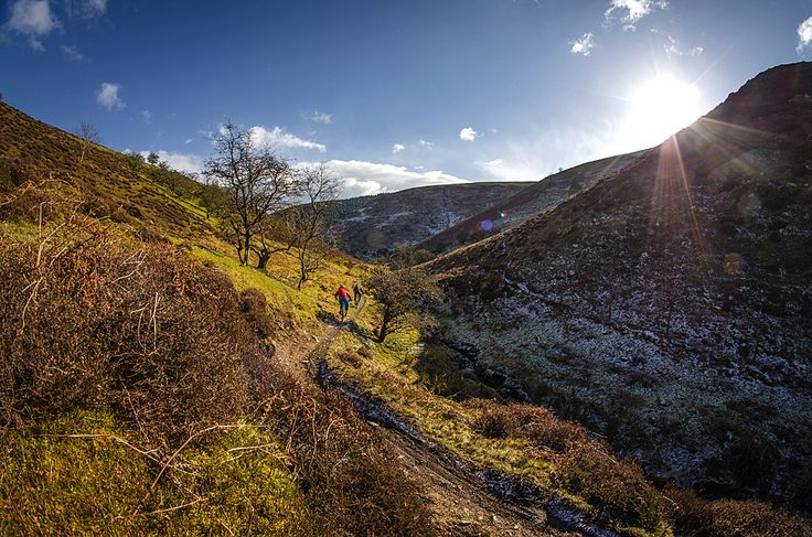 Long Mynd GPS route download