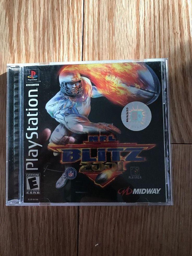 NFL Blitz 2001 (Sony PlayStation 1, 2000) 31719268252   eBay