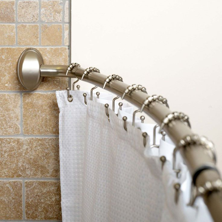 Awesome Shower Curtain Ring ~ http://www.lookmyhomes.com/choosing-appropriate-shower-curtain-ring/