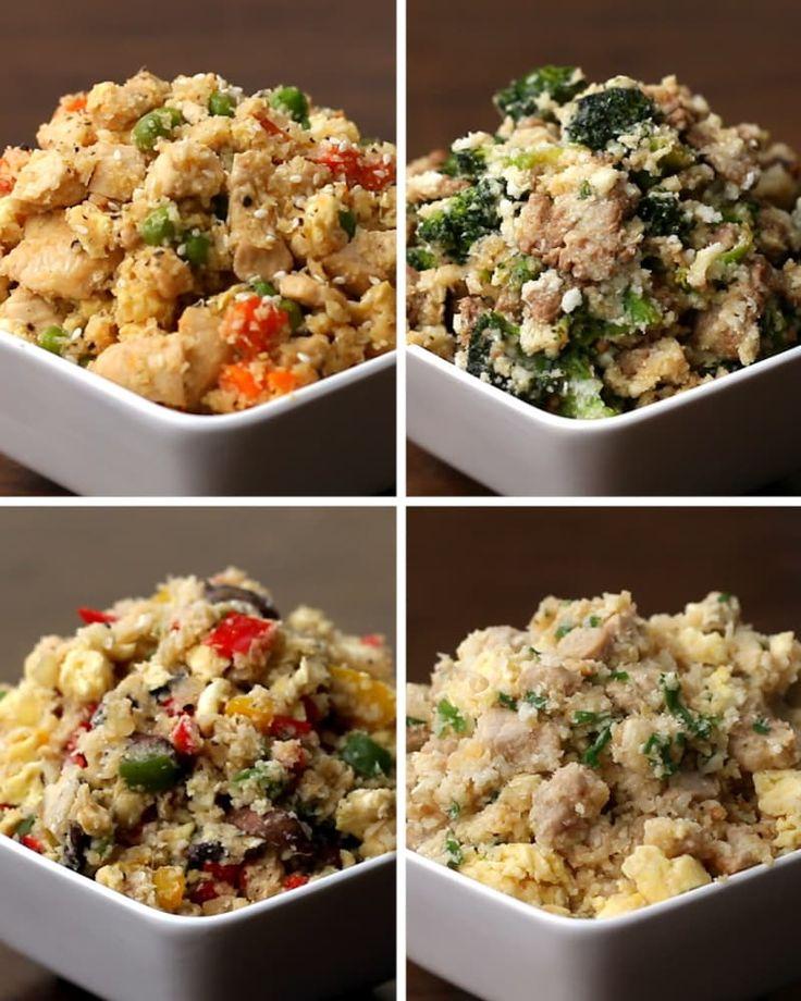 Estas quatro receitas de arroz de couve-flor são perfeitas se você está de dieta