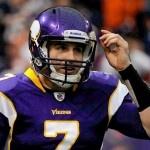Christian Ponder, Minnesota Vikings upset the 49ers