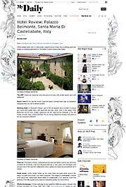 Palazzo Belmonte Rassegna stampa Hotel Review Palazzo