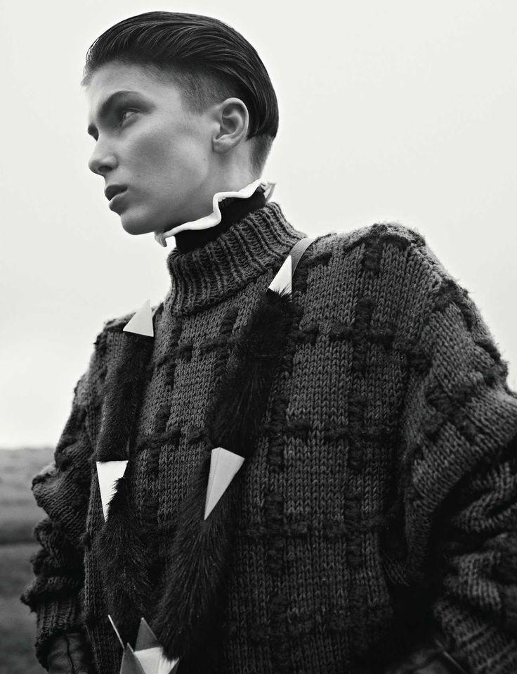 visual optimism; fashion editorials, shows, campaigns & more!: diva of orleans: kristina salinovic by richard bush for vogue russia november 2012