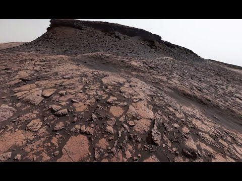 . @NASA's Curiosity #Mars Rover Looks Back on Murray Buttes (360 View)