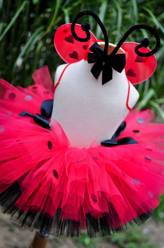 Lady Bug! Wish my daughter would let me pick out her costumes for Halloween still! This is darling!