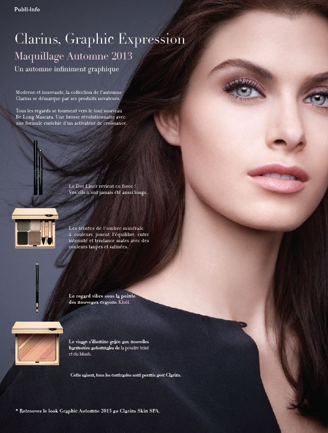 Graphic Expression - Clarins