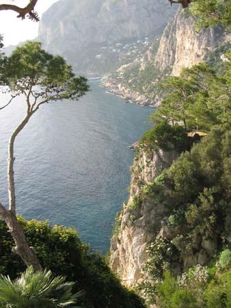 Capri, Capri, Capri. With the amazing San Michele.