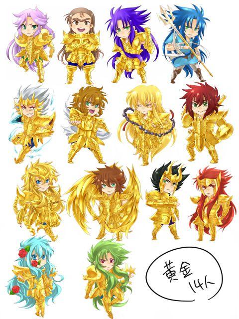 Manga Gold Saints