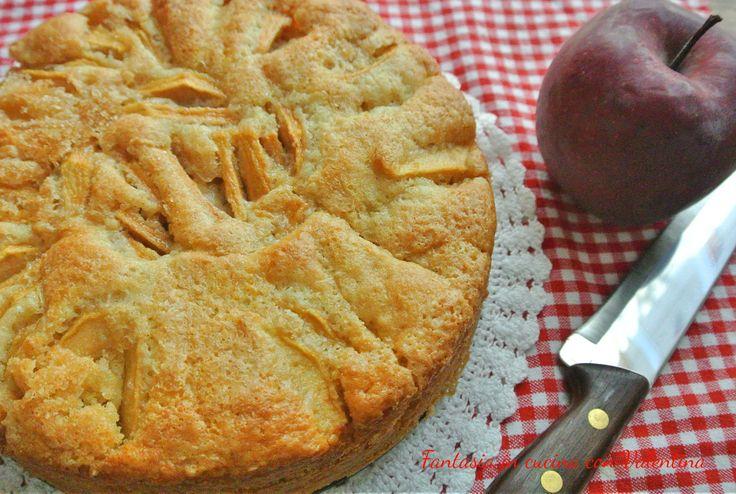 Torta+di+mele+leggera+(senza+uova+e+burro)