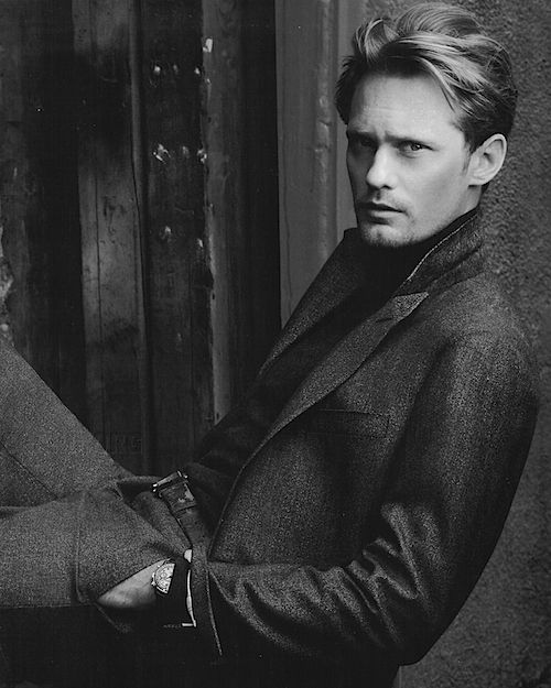 """Love His Hair In This One!  & of Course, """"The Stare!""""  <3But, Alexander Skarsgaard, True Blood, Alexander Skarsgard, Hot, Annie Leibovitz, Alexander Skarsgård, People"""