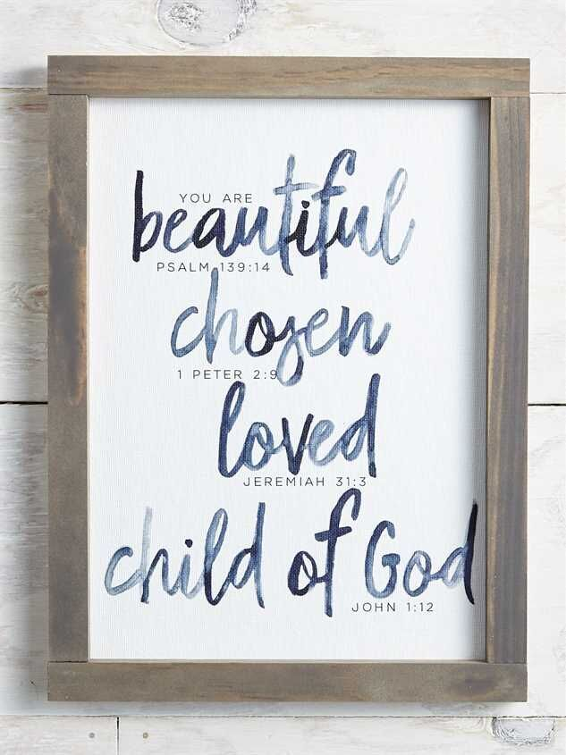 Child Of God Wall Art Wall Decor Quotes Art Wall Kids Frame Wall Decor
