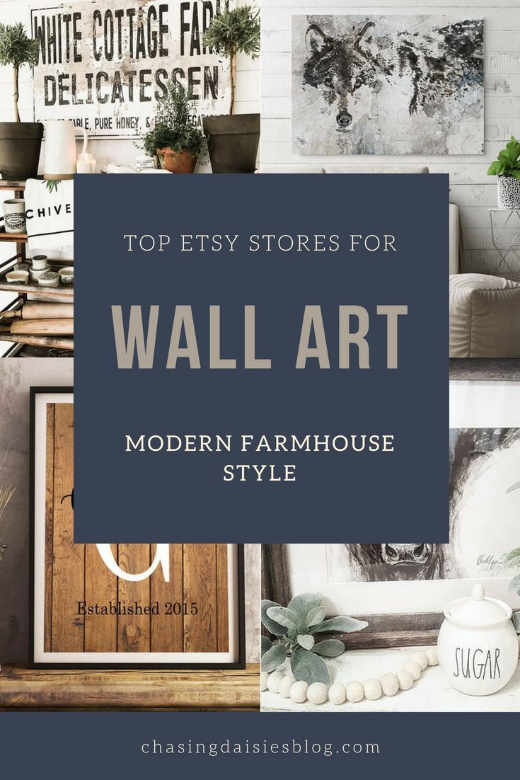 The Best Etsy Stores For Modern Farmhouse Wall Art Farmhouse Wall Art Living Room Farmhouse Wall Art Kitchen Farmhouse Wall Art Diy