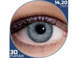 Air Optix Colors Sterling Gray | lentile de contact colorate gri lunare - 30 purtari (2 lentile/cutie)