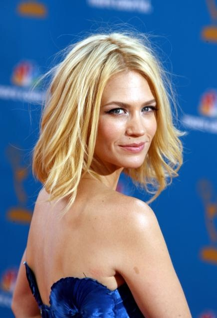 January Jones - Hair.. Want this hair color and style