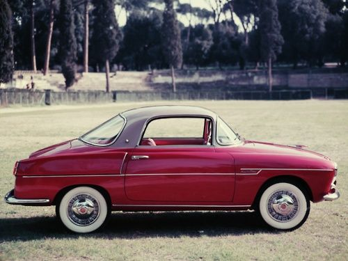 1959Fiat 600 Coupe by Viotti  I want one. Where? Where?