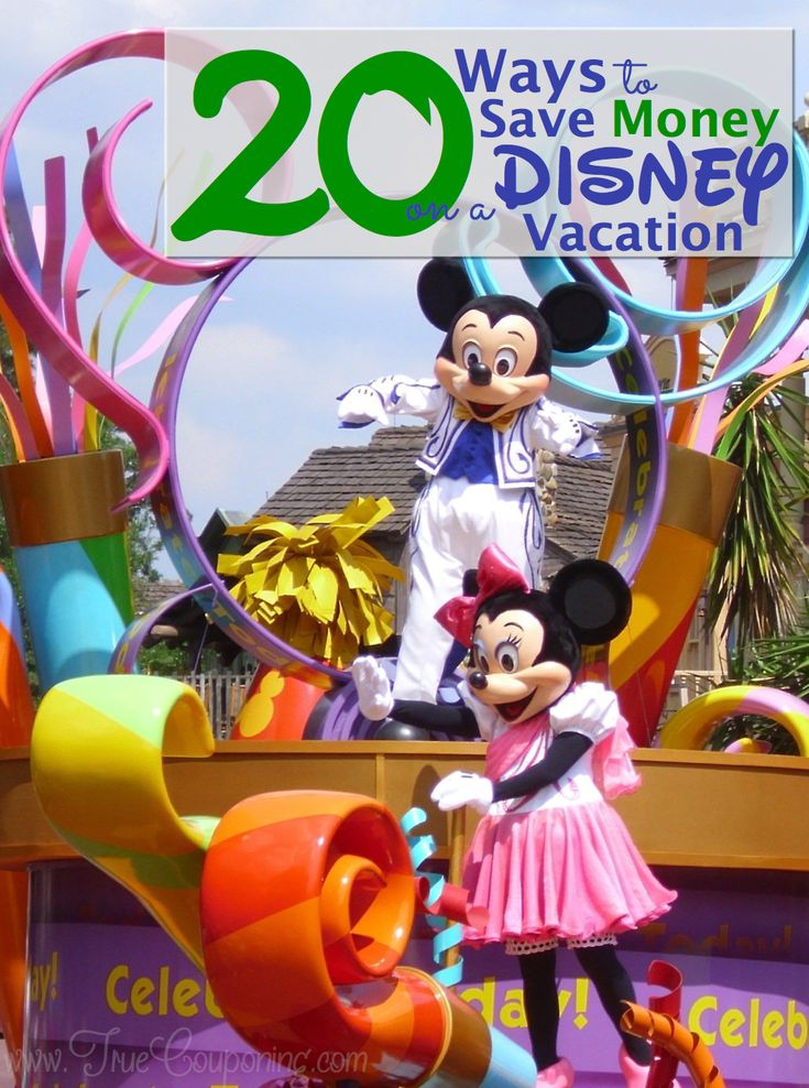 Planning a Trip to Disney This Year? Here are TWENTY Ways to Save on Your Vacation!