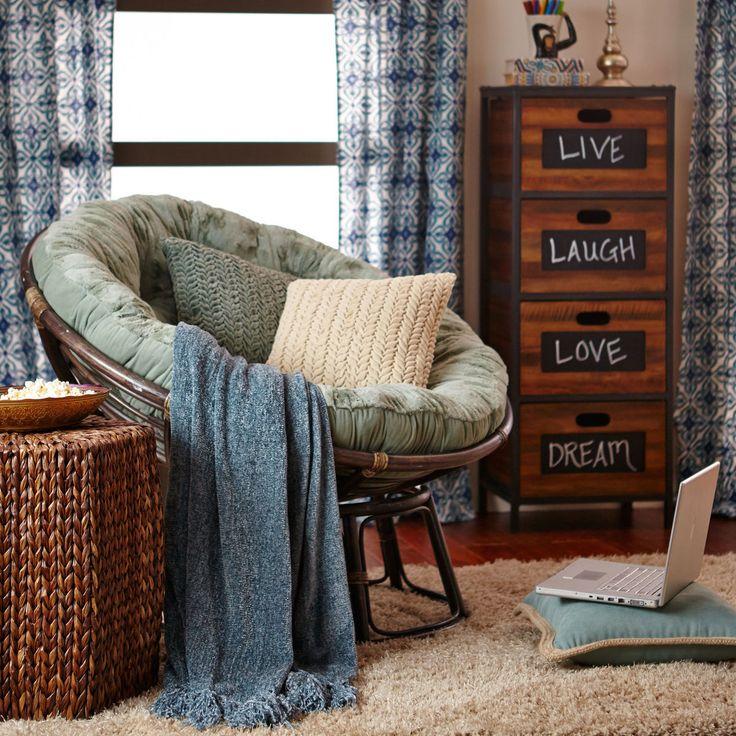 Papasan Brown Chair Frame | Pier 1 Imports