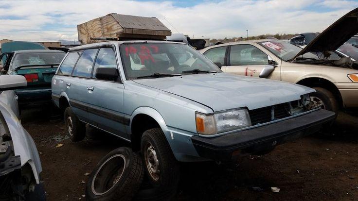 Junkyard Gem: 1992 Subaru Loyale Wagon, with Budget Cargo Carrier - Autoblog