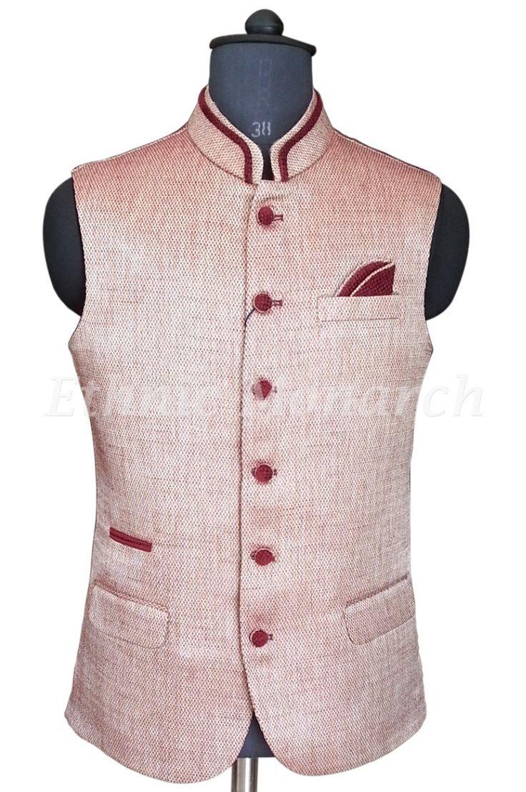 Light colour Nehru Jacket