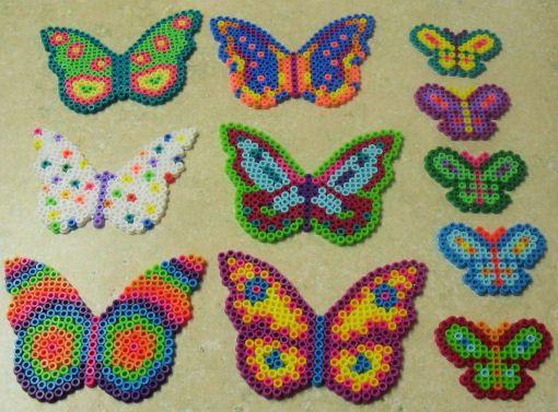 Hama beads Butterflies