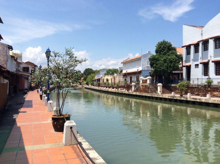 River side walk.