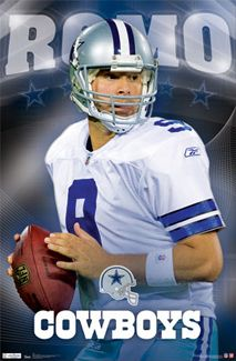 Tony Romo SHINING STAR Dallas Cowboys NFL Football Action Wall Poster