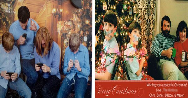 Funny Family Christmas Cards You'll Wish You Had Thought Of!