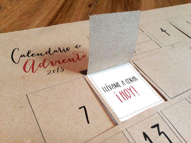 Si eres de los que les encanta regalar detalles y además te gustan las manualidades, bingo! Descárgate el calendario de Adviento Print the Legend y alégrale los próximos 24 días a alquien que quieres!
