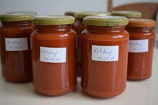 Süti és más...: Ketchup házilag