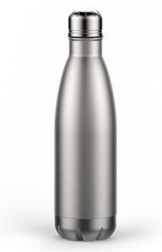 66db992f182 1 17 oz double wall stainless steel water bottle 17 Oz Double Wall  Stainless Steel Water Bottle in the color of your choice, powder coated for  durability.