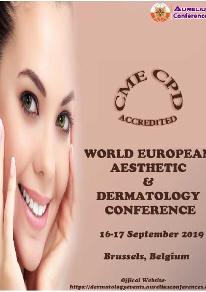 WORLD EUROPEAN AESTHETIC & DERMATOLOGY CONFERENCE in 2019