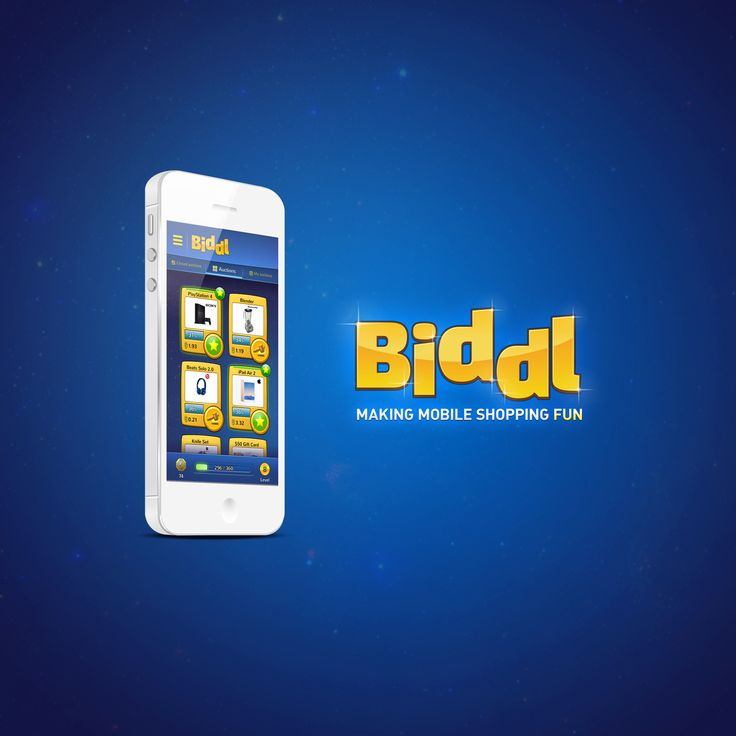Biddl - The First Mobile Shopping Game. Get Biddl at: https://get.biddl.com/