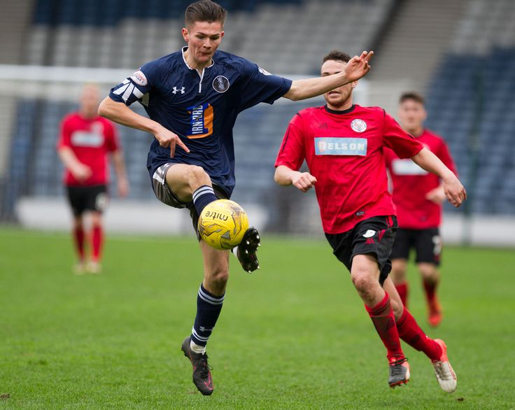 Queen's Park's Ewan MacPherson in action during the Ladbrokes League One game between Queen's Park and Brechin City.