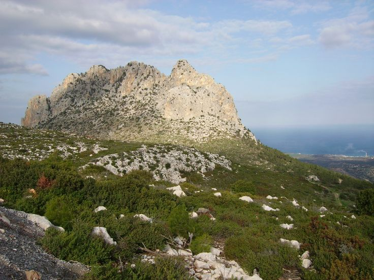 The Five Finger Mountain / North Cyprus // why not just call it Hand Mountain?...
