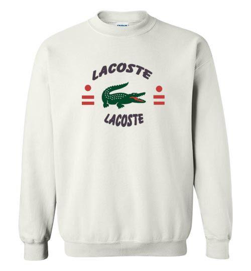 nice Lacoste Sweatshirt