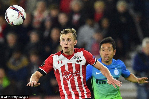 James Ward-Prowse kept things ticking over and was tidy in possession for the Saints