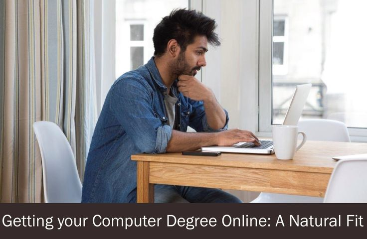 Getting Your Computer Degree Online: A Natural Fit