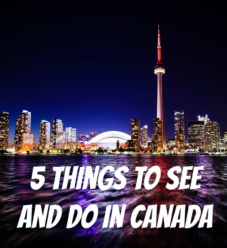 5 Things To See And Do In Canada. Canada is the second largest country in the world. As you can imagine, there's a lot to see and do. Here are just a few of the biggest charms the country has to offer that might persuade you into travelling to this mighty