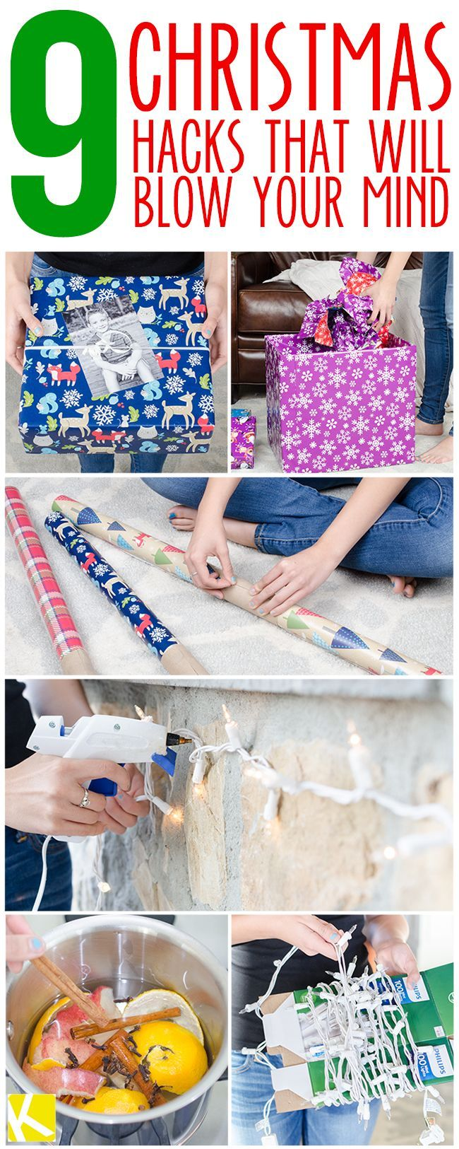 9 Christmas Hacks That Will Blow Your Mind - (thekrazycouponlady)