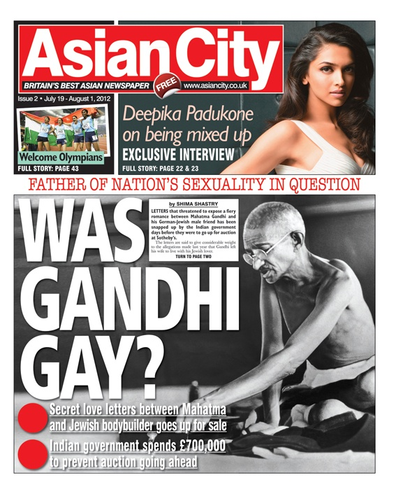 Asian City - Issue 2 #news #gossip #fashion #entertainment #music #sports #newspaper #tabloid #press #journalism #frontcover