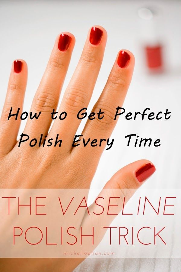 Easy Trick to Get Perfect Polish Every Time